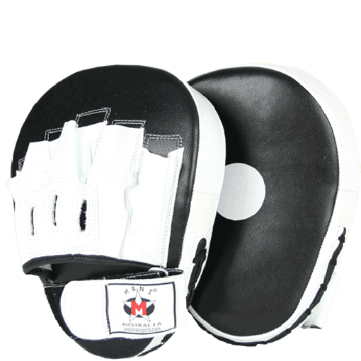 Mani Leather Focus Pads Boxing MMA Muay Thai Training MFP-105a - MMA DIRECT