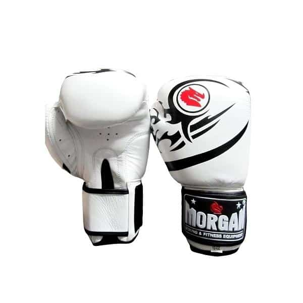 Morgan Elite Boxing & Muay Thai Leather Gloves 8-12 & 16oz - MMA DIRECT