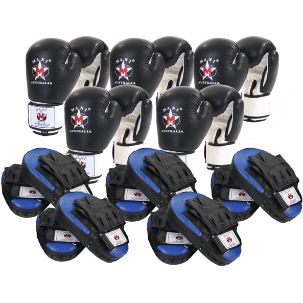 MANI Personal Trainers Boxing Pack Set Bulk - MMA DIRECT
