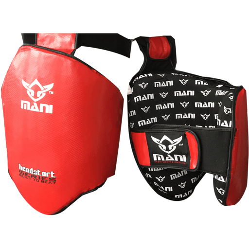 Mani Head Start Series Lightweight Thigh Guard Protector MMA/Muay Thai/Boxing - MMA DIRECT