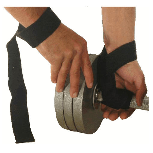 MANI Weight Lifting Straps Wraps Non Padded Heavy Duty Cotton - MMA DIRECT