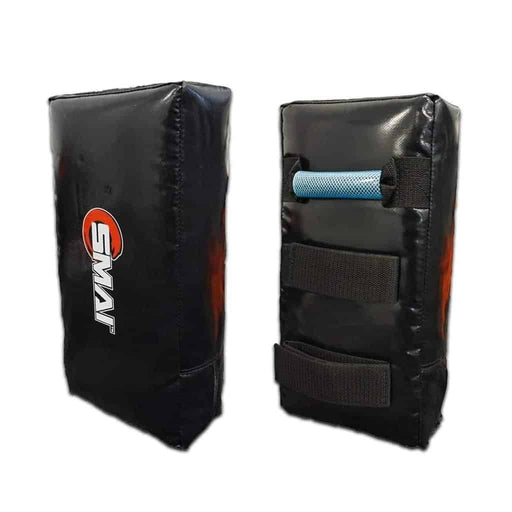 SMAI Muay Thai Pad - SHOCTEC (Single) Black - MMA DIRECT