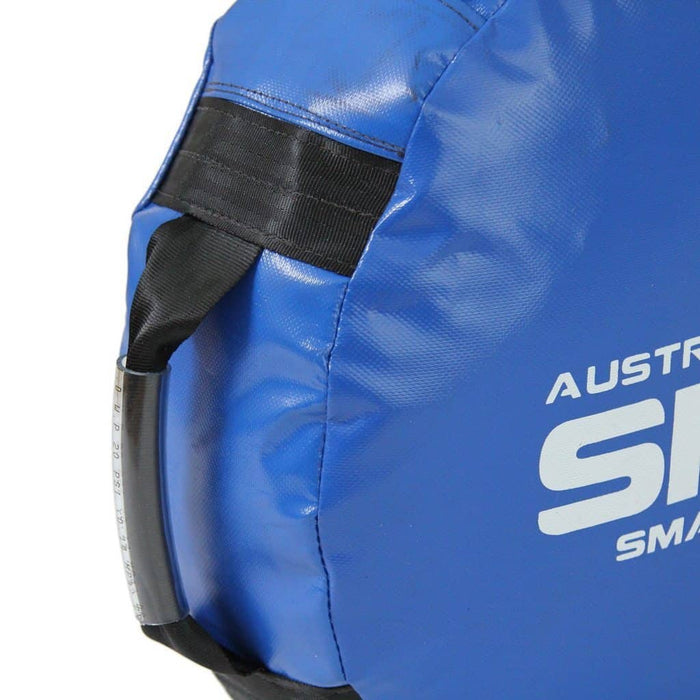 SMAI Large Round Shield Target Aussie Made Black or Blue - MMA DIRECT