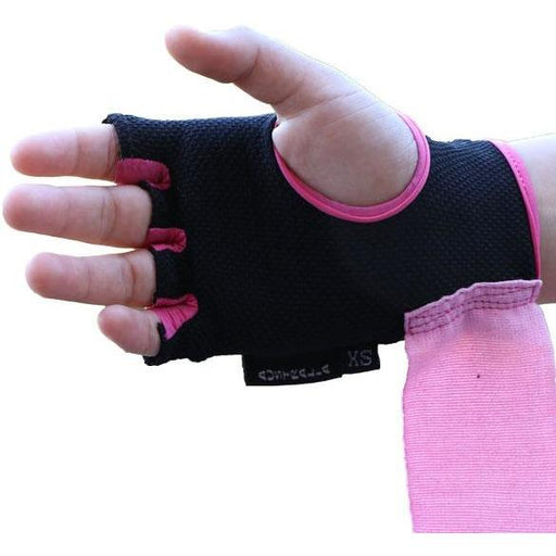 MANI Pink Boxing Quick Wraps [XS/S/M] Ladies / Womens - MMA DIRECT