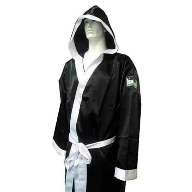 Morgan Boxing Walk Out Robe One Size Smooth Satin - MMA DIRECT