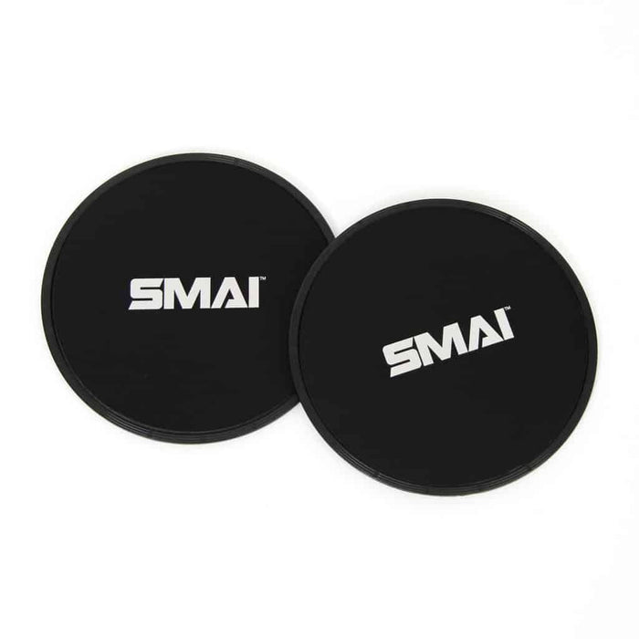 SMAI AB Slide Discs Pair Black - MMA DIRECT