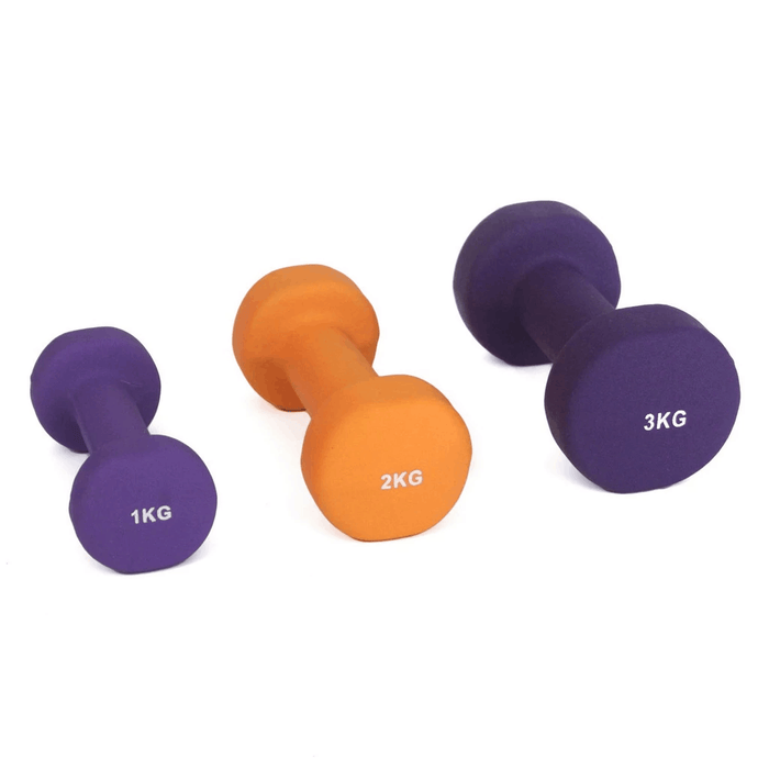 SMAI - Dumbbell - Neoprene (Sizes 1kg, 2kg, 3kg) Single - MMA DIRECT