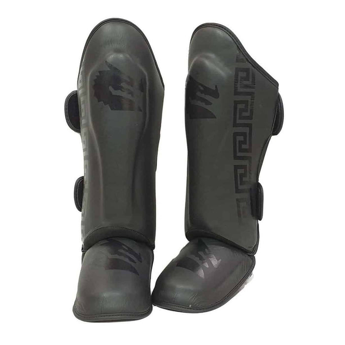 Morgan B2 Bomber Leather Sparring Shin & Instep - MMA DIRECT