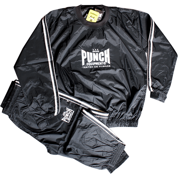 PUNCH Sauna Suit Water Weight Aid Stretchable - MMA DIRECT