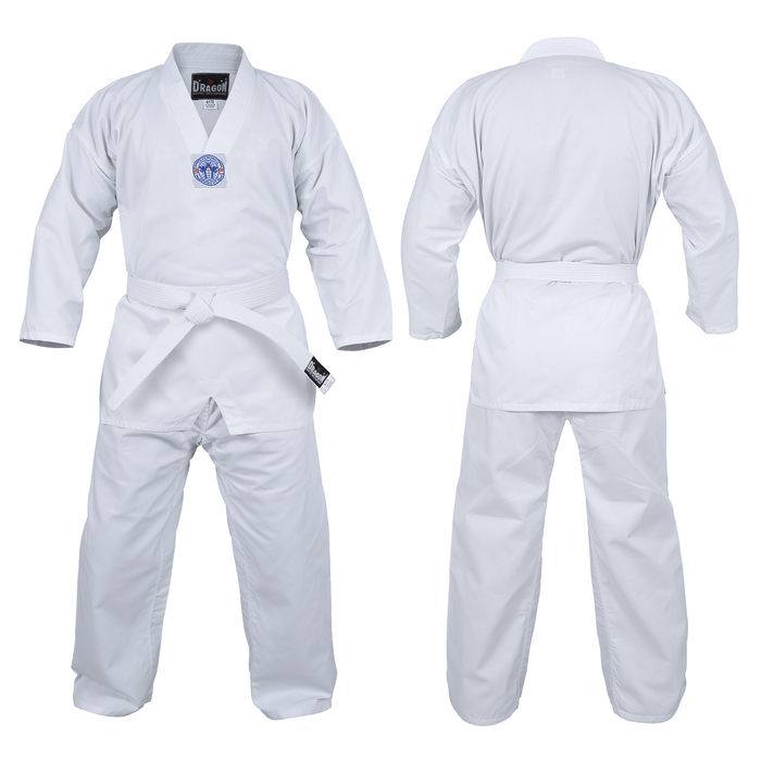 Dragon Deluxe Taekwondo Uniform (8oz) + Belt