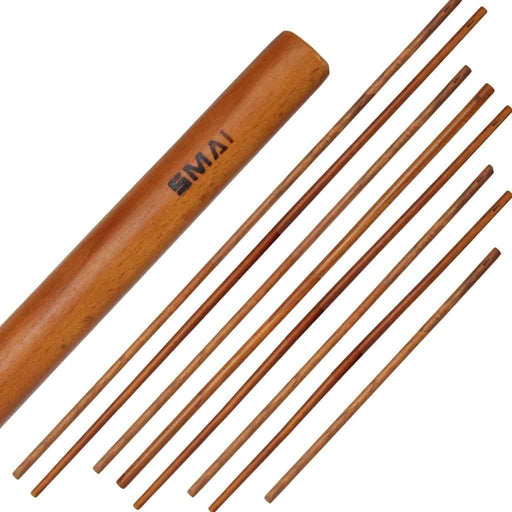 SMAI -  Bo Staff - Red Oak 3ft 4ft 5ft 6ft - MMA DIRECT