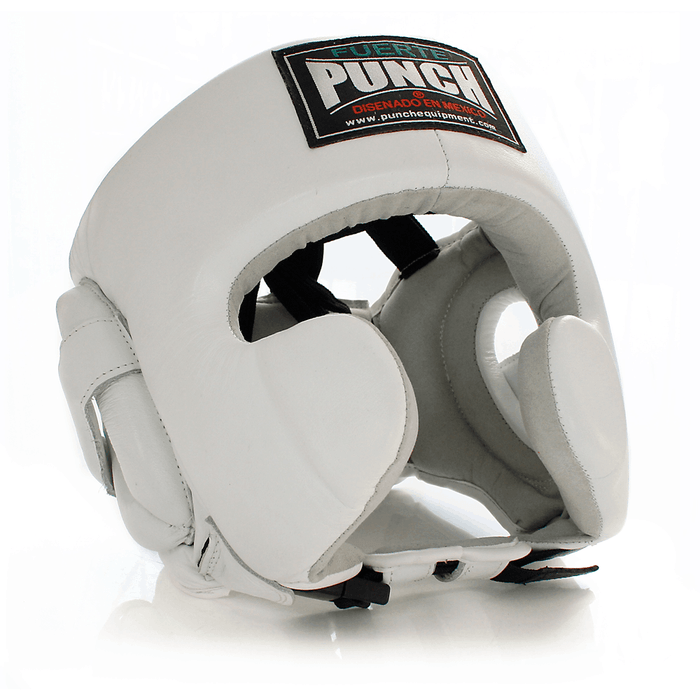 Punch Mexican Pro Boxing Leather Headgear MMA Head Guard Helmet - MMA DIRECT