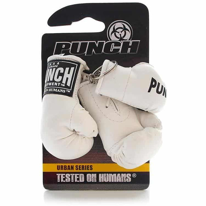 PUNCH Mini Boxing Gloves Key Ring Chain Pack - MMA DIRECT
