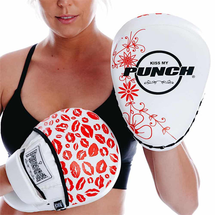 Punch Womens Focus Pads Lip Art Red Limited Edition