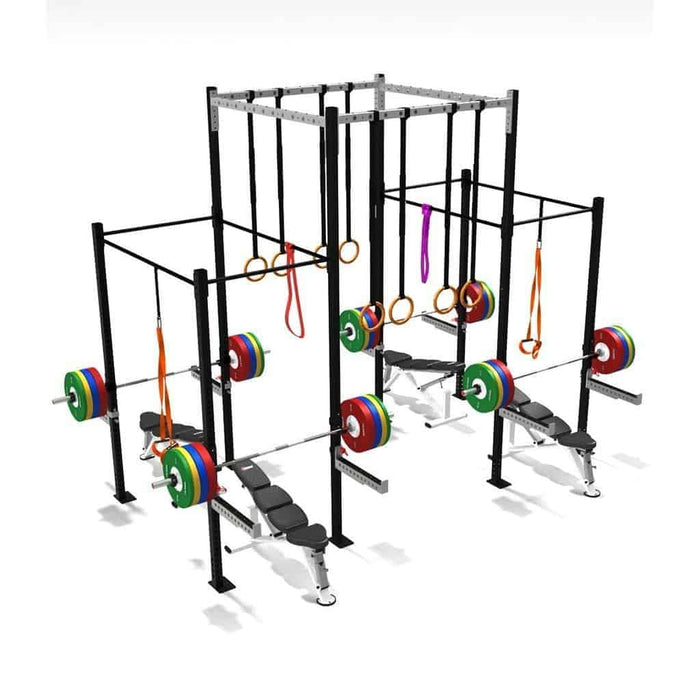 SMAI - Four Squat Full Cell With High Overpass - MMA DIRECT