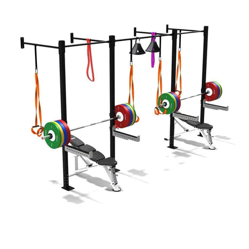 SMAI - Double Squat Rack Half Cell - MMA DIRECT