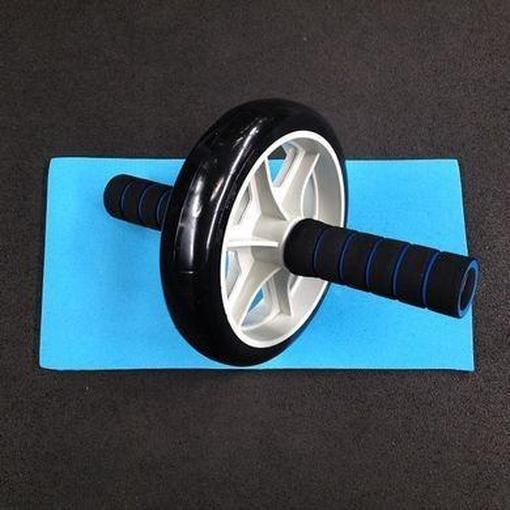 Morgan Ab Wheel Core Strength Workout + FREE Yoga Mat CF-43 - MMA DIRECT