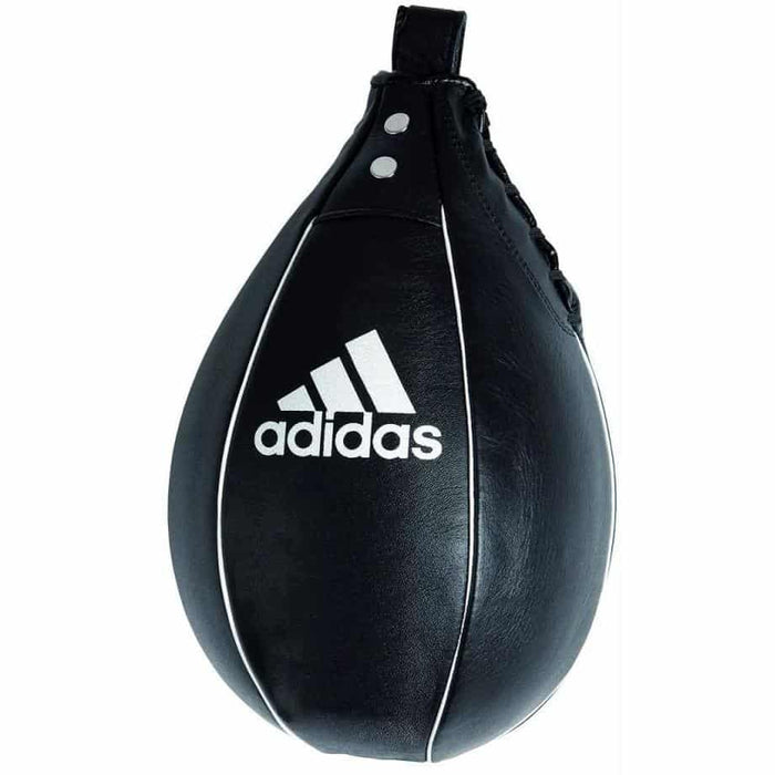 Adidas Leather Speed Ball 15x23cm Boxing Thai MMA Training ADIBAC091-S - MMA DIRECT
