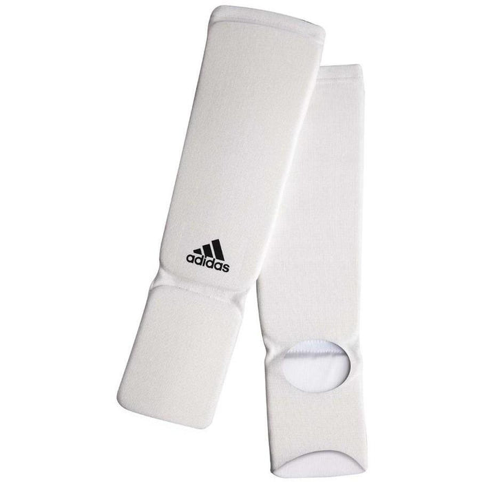 Adidas Cotton Shin/Instep Protector Boxing Thai MMA Protective Equipment ADIBP08 - MMA DIRECT