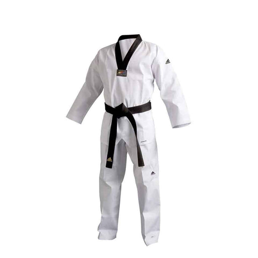 Adidas Taekwondo Uniform Gi Dobok Adichamp III Black V Climacool - MMA DIRECT