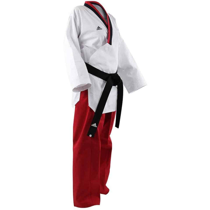 Adidas Taekwondo Poomsae Junior Youth Female Womens Gi Uniform Dobok - MMA DIRECT