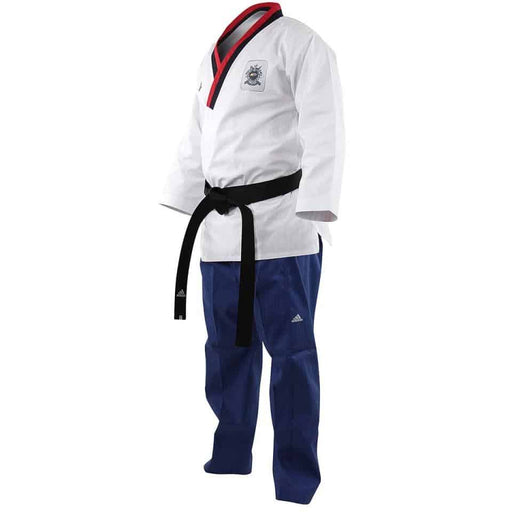 Adidas Taekwondo Poomsae Junior Youth Male Gi WTF Uniform Dobok - MMA DIRECT