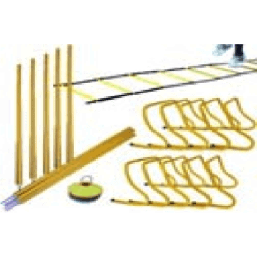 Morgan Agility Pack Commercial Grade Speed Ladder Agility Pole Hurdles+ Combo - MMA DIRECT