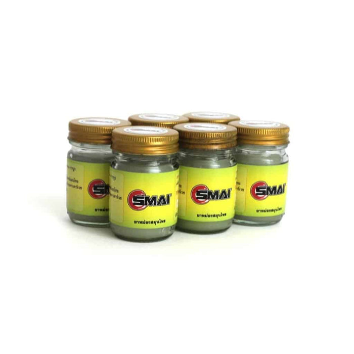 SMAI - Sports Relief Thai Balm 120ml (6pk) - MMA DIRECT