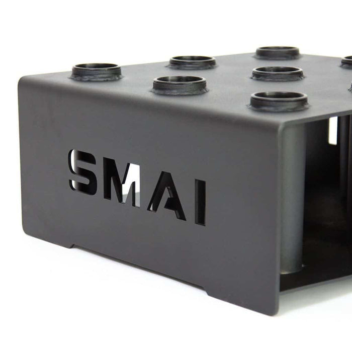 SMAI - Commercial 9 Barbell Holder - Freestanding - MMA DIRECT