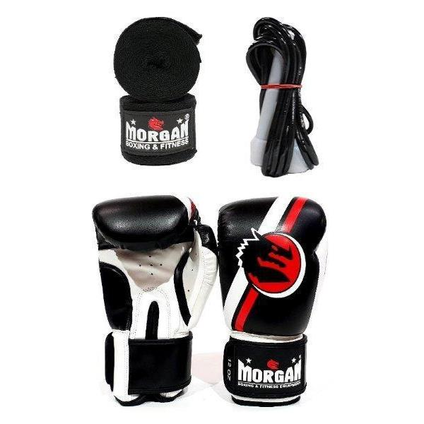 Morgan Classic Pack Training Pack Cardio Gloves Skipping Rope Hand Wraps - MMA DIRECT