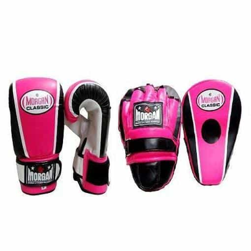 Morgan Bulk Classic Focus Pads & Bag Mitts Boxing Trainers/Coaching Kit x10 - MMA DIRECT