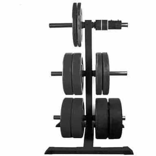 MORGAN Bumper Weight Plate Rack Gym Storage - MMA DIRECT