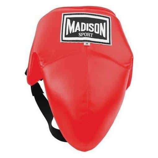 Madison Abdominal Protector - Red Boxing - Sports Grade