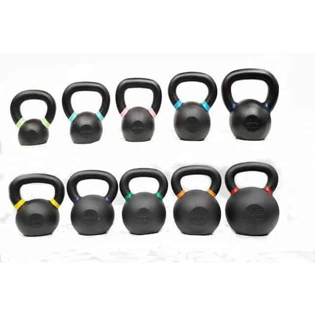 Morgan V2 Powder Coated Kettlebells 4/6/8/10/12/16/20/24/28/32kg CF-24-V2 - MMA DIRECT