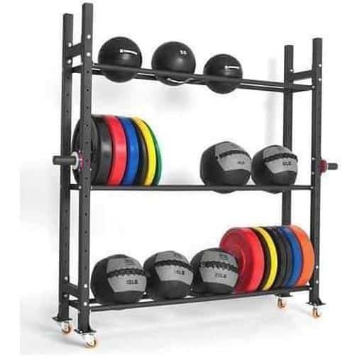 MORGAN Multi-Purpose Weight Plate Rack Racking Gym Storage System Shelves - MMA DIRECT