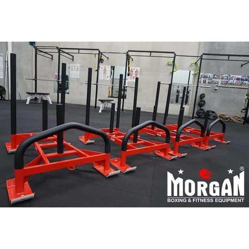 Morgan Driver Sled 2.0 + H-Harness Pro Grade Training Workout CF-17-B - MMA DIRECT