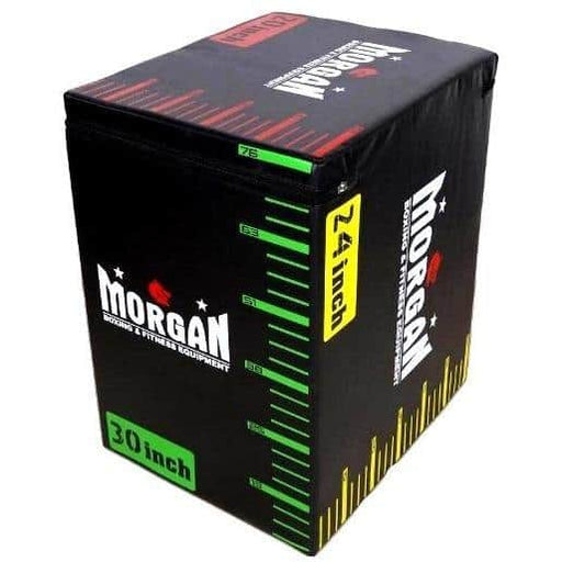Morgan V2 3 in 1 Cross Functional Fitness High Density Foam Plyometric Box - MMA DIRECT