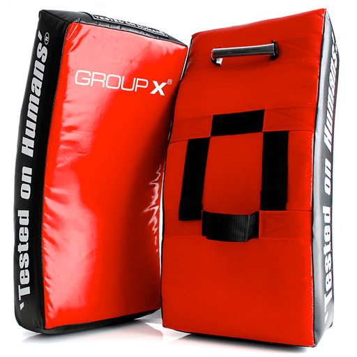 Group X AAA Rated Kick Shield Pad Boxing MMA Karate Taekwondo Muay Thai Training - MMA DIRECT