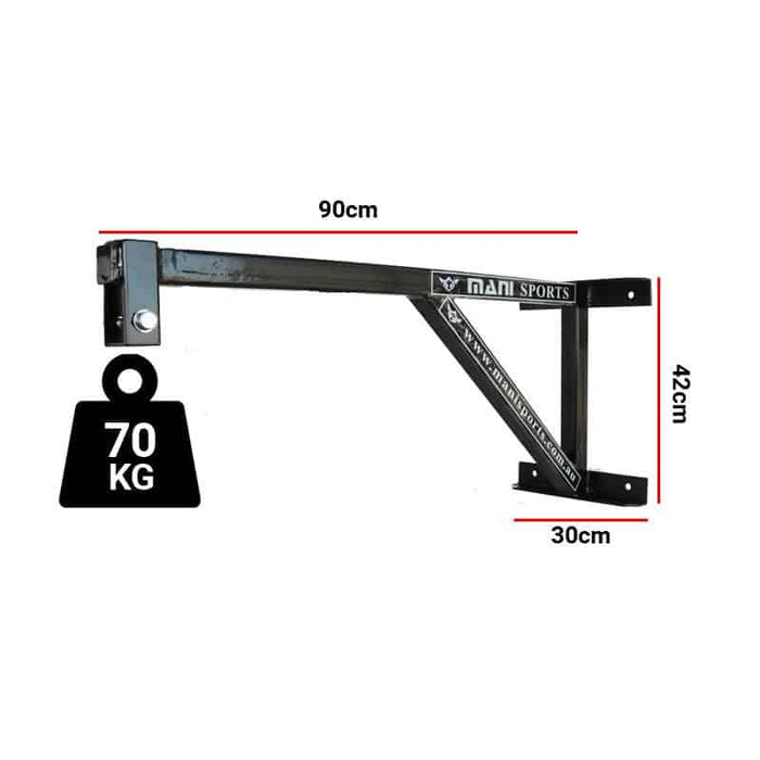 Mani Heavy Duty Commercial Fixed Boxing Bag Wall Bracket