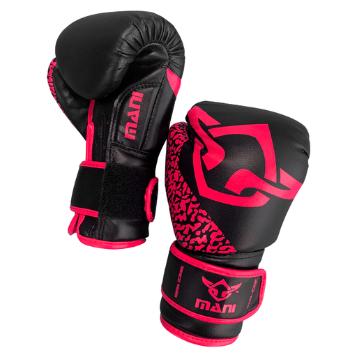 Mani Pink Kids Junior Childrens 8oz Boxing Gloves Sparring/Training MKBG-201 - MMA DIRECT