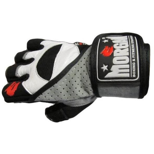 Morgan V2 Platinum Weightlifting Gym Training Gloves - MMA DIRECT