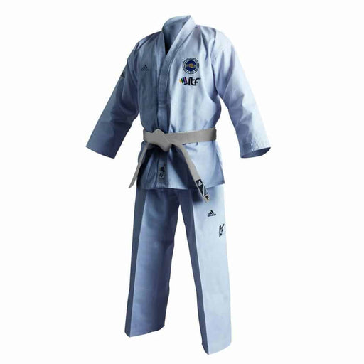 Adidas Taekwondo ITF Student Junior Gi Uniform Dobok + Belt - MMA DIRECT