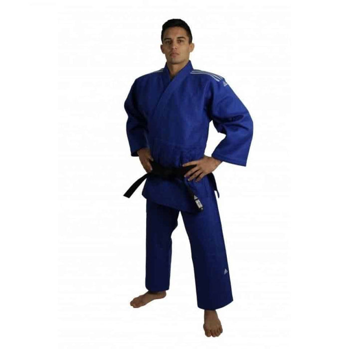 Adidas J930 Blue with Optical Label Judo Gi Uniform 150cm-210cm - MMA DIRECT