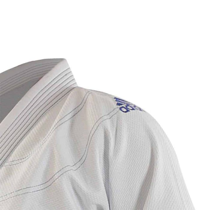 Adidas Challenge BJJ Brazilian Jiu Jitsu WHITE Gi Uniform Adult Sizes - MMA DIRECT