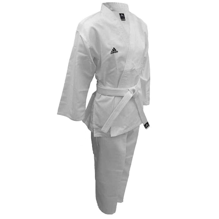 Adidas Adistart K202K Karate Uniform with White Belt 100cm-170cm - MMA DIRECT