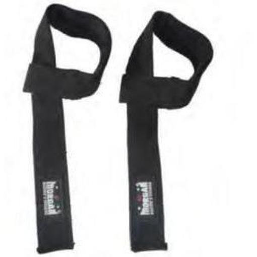 Morgan Power Lifting Straps Heavy Duty with Neoprene Wrist Pads LG-6 - MMA DIRECT