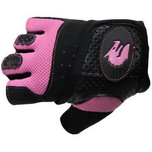 Morgan Ladies Womens Training Cross Functional Fitness Gym Workout Gloves Pink - MMA DIRECT