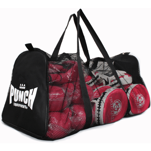PUNCH 3ft Mesh Duffle Carry Sports Gear Gym Bag - MMA DIRECT