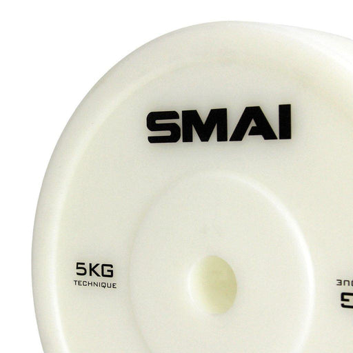 SMAI - Technique Bumper Plate 5kg (Pair) - MMA DIRECT