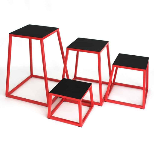 SMAI - Plyometric Box Set of 4 Steel - MMA DIRECT